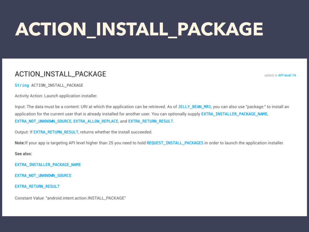 ACTION_INSTALL_PACKAGE