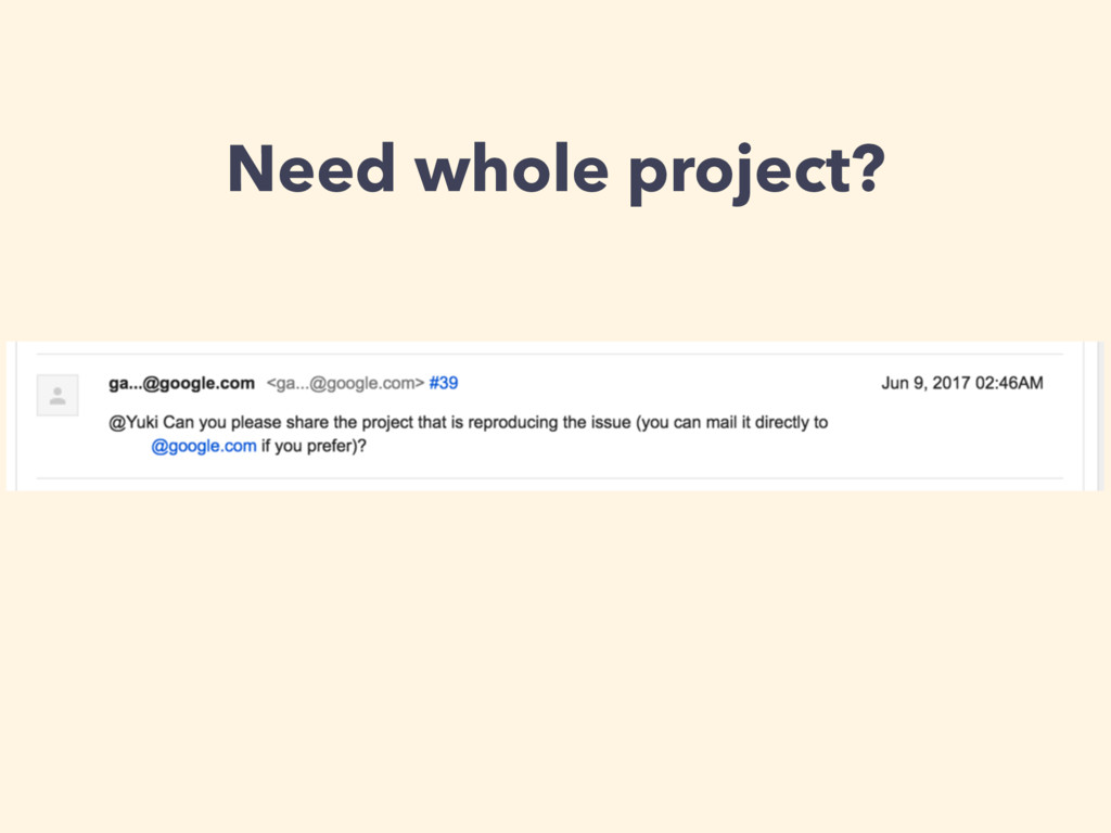 Need whole project?