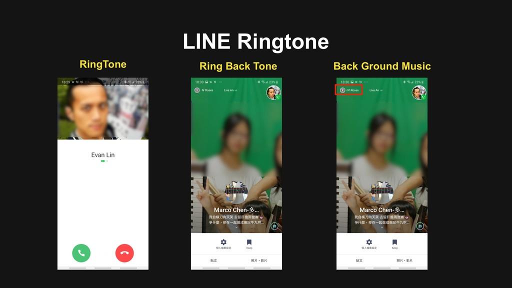 LINE Ringtone Back Ground Music Ring Back Tone ...