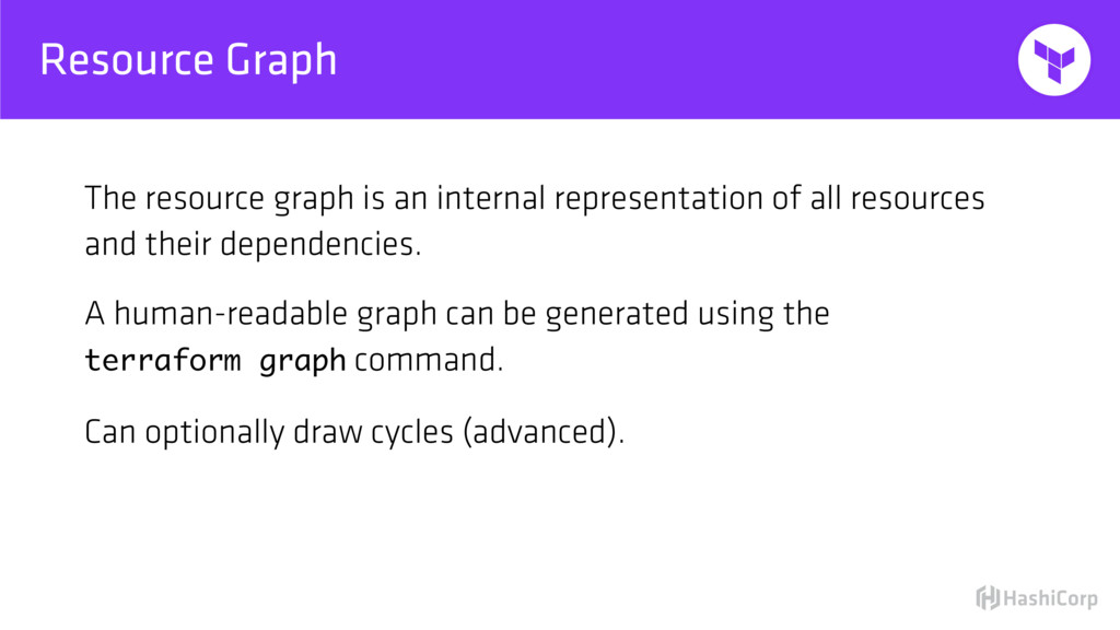 Resource Graph The resource graph is an interna...