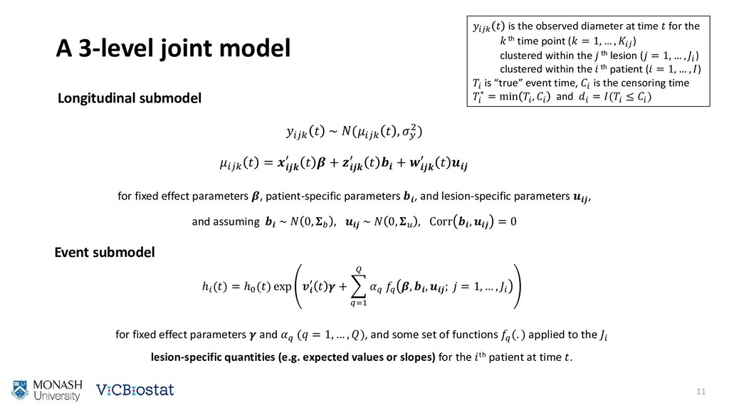 ℎ () = ℎ0 () exp  ′   +  =1    ,  ,  ;  = 1, …...