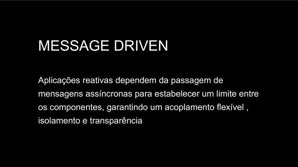 Spring Framework 20+ MESSAGE DRIVEN Aplicações ...