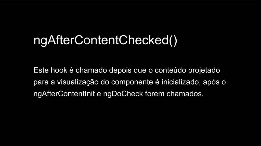 Spring Framework 20+ ngAfterContentChecked() Es...