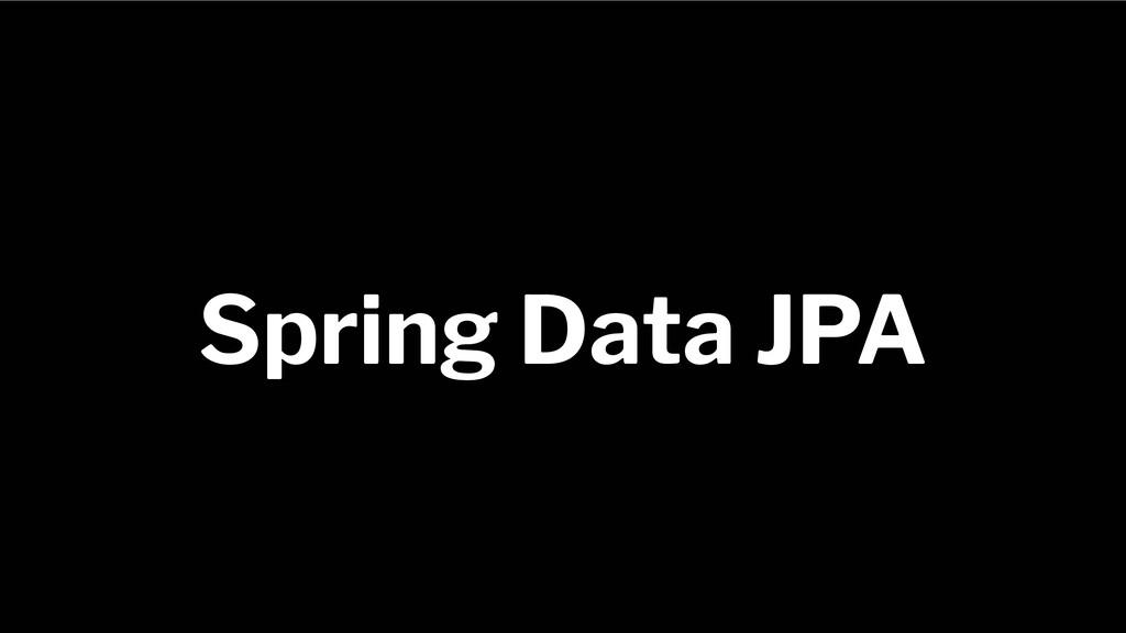 Spring Framework 20+ Spring Data JPA