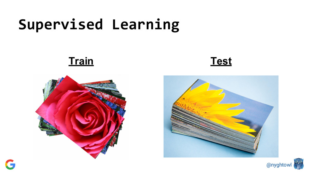 @nyghtowl Supervised Learning Test Train