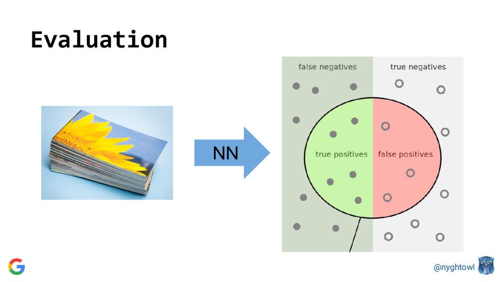 @nyghtowl Evaluation NN