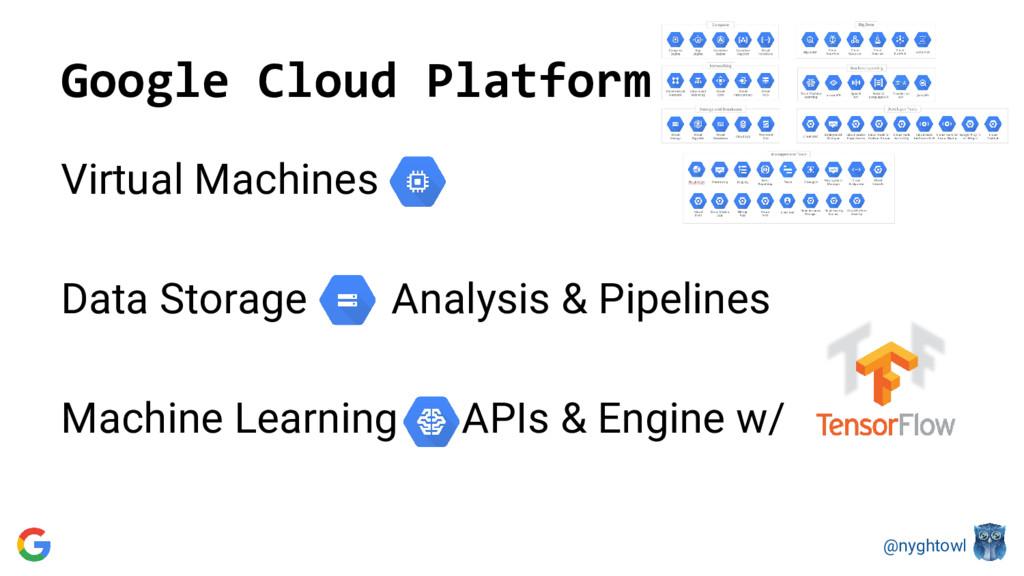 @nyghtowl Google Cloud Platform Virtual Machine...