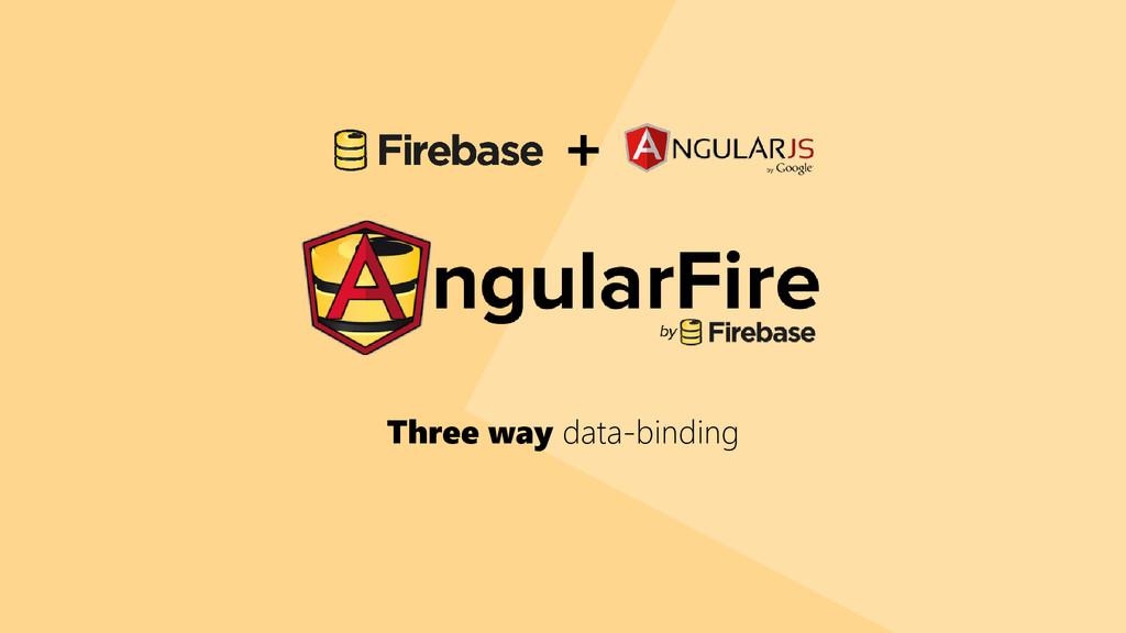 Three way data-binding