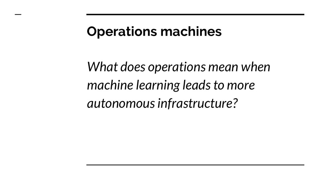 Operations machines What does operations mean w...