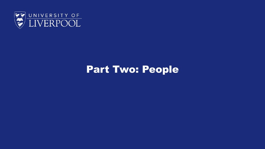 Part Two: People