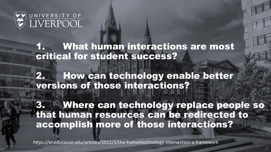 1. What human interactions are most critical fo...