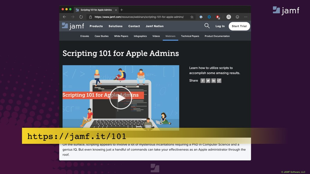 © JAMF Software, LLC https://jamf.it/101