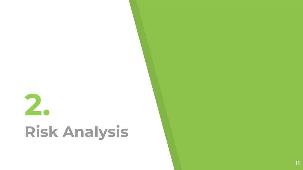2. Risk Analysis 11