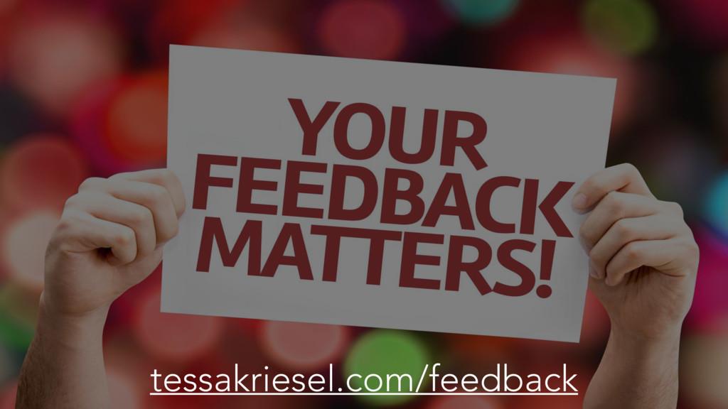 tessakriesel.com/feedback