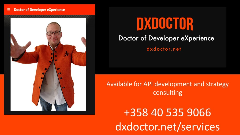 Available for API development and strategy cons...