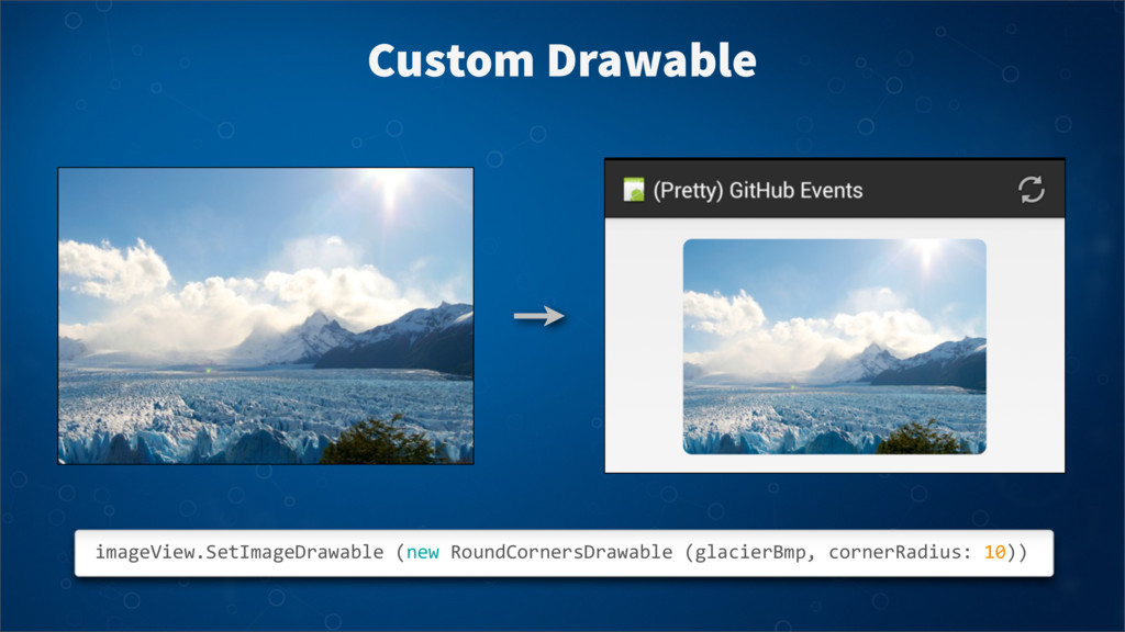 Custom Drawable imageView.SetImageDrawable	