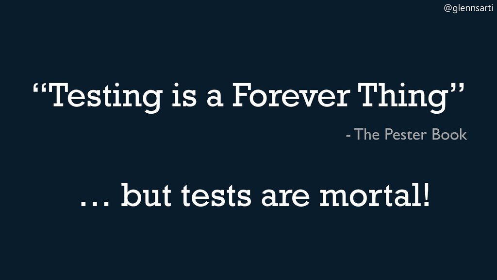 "@glennsarti ""Testing is a Forever Thing"" - The ..."