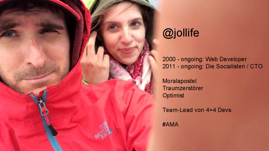 @jollife 2000 - ongoing: Web Developer 2011 - o...