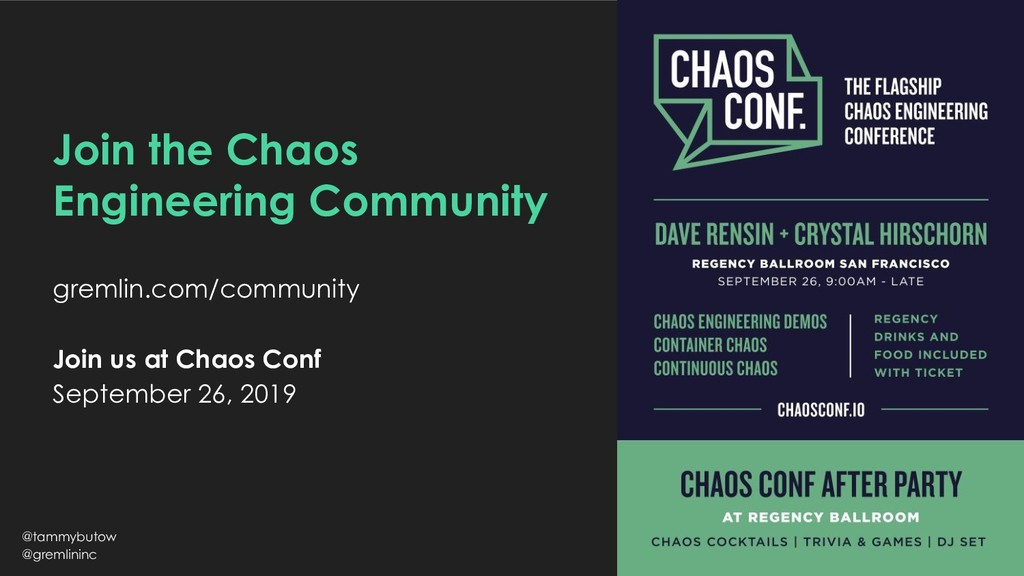 Join the Chaos Engineering Community gremlin.co...