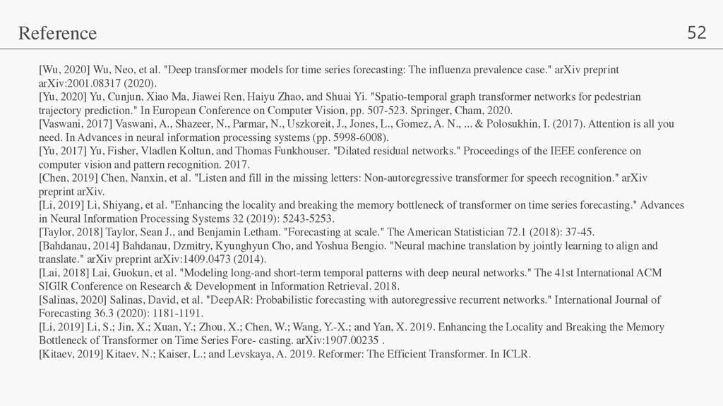 "52 [Wu, 2020] Wu, Neo, et al. ""Deep transformer..."