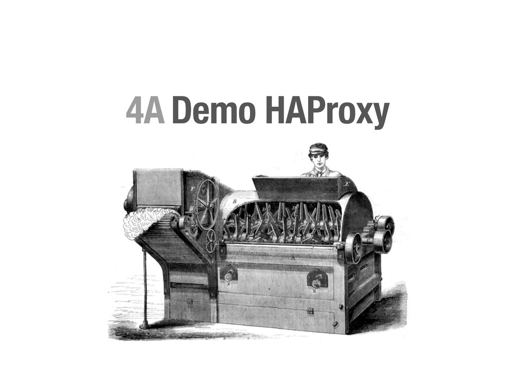 Demo HAProxy 4A