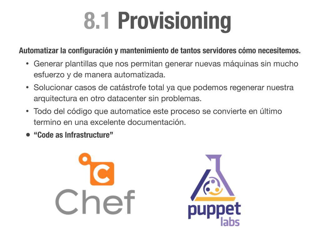 Provisioning 8.1 Automatizar la configuración y ...