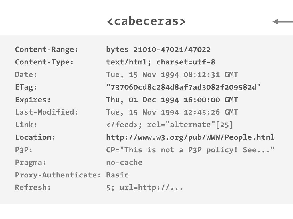 <cabeceras> Content-Range: bytes 21010-47021/47...