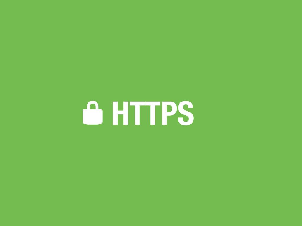 HTTPS *