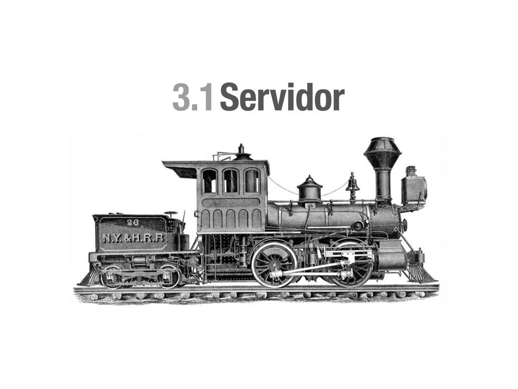 Servidor 3.1