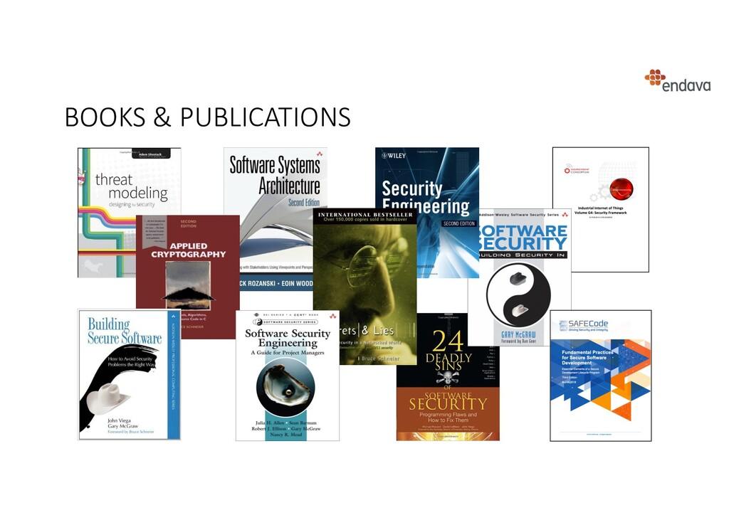 BOOKS & PUBLICATIONS
