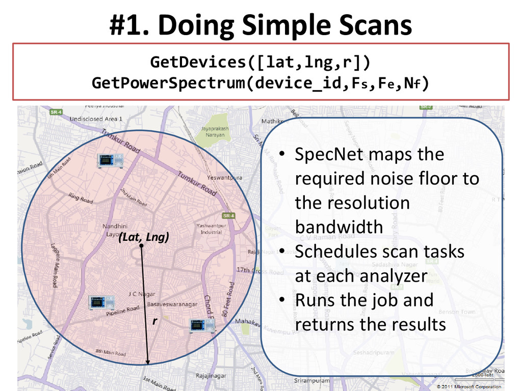 #1. Doing Simple Scans GetDevices([lat,lng,r]) ...