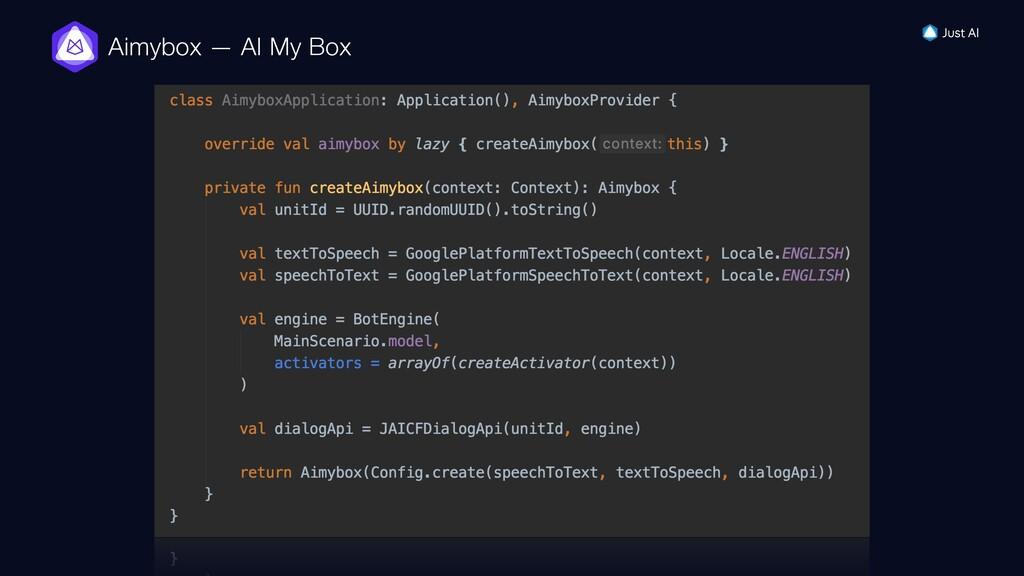 Aimybox — AI My Box
