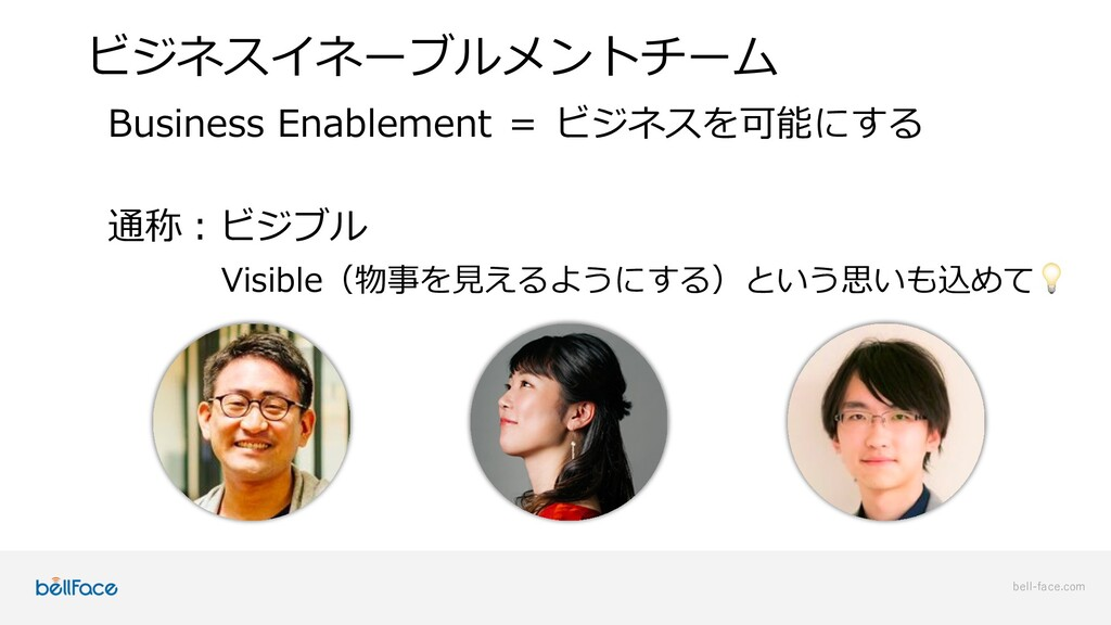 bell-face.com ビジネスイネーブルメントチーム Business Enableme...