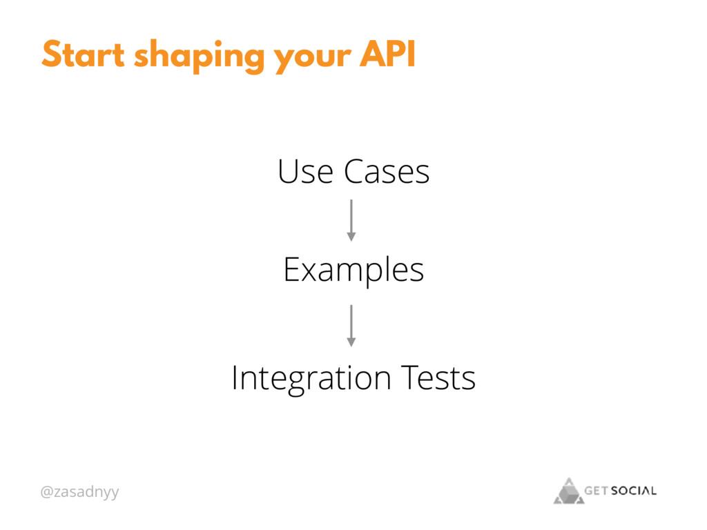 @zasadnyy Start shaping your API Use Cases Exam...