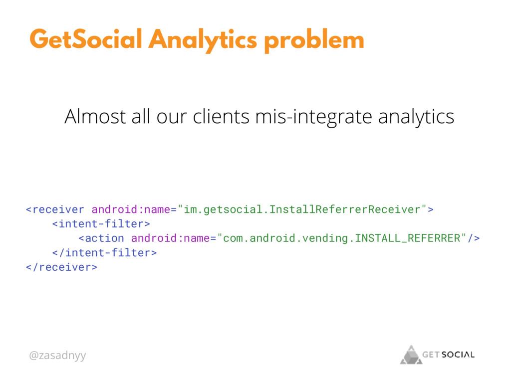@zasadnyy GetSocial Analytics problem Almost al...