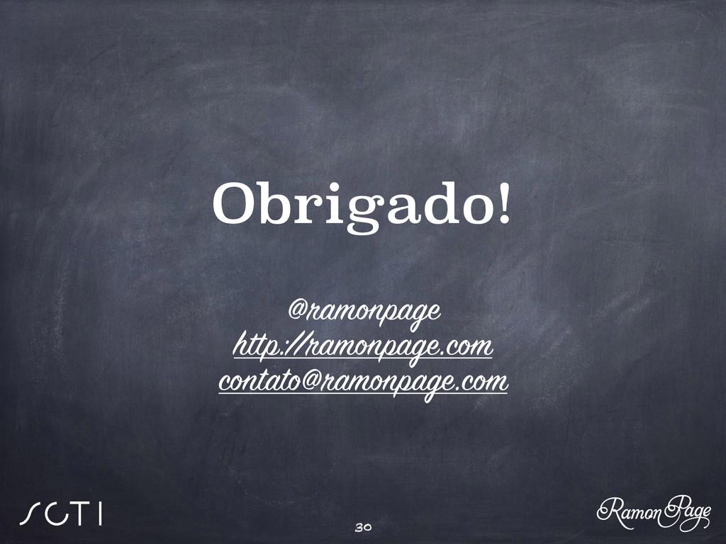 Obrigado! @ramonpage http://ramonpage.com conta...