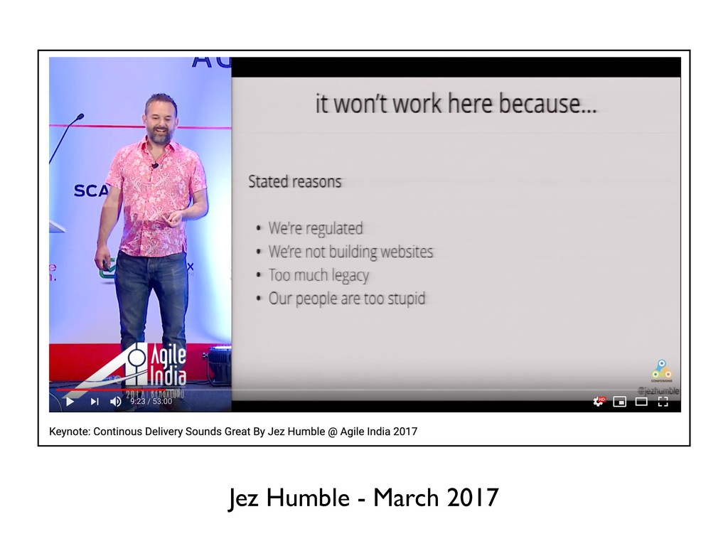 Jez Humble - March 2017
