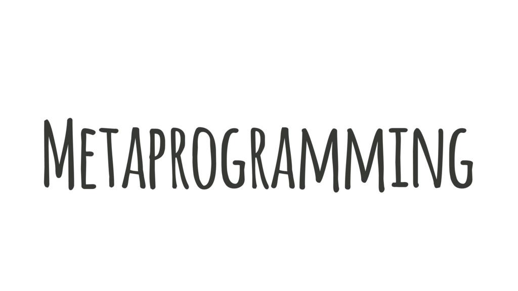 programming Meta