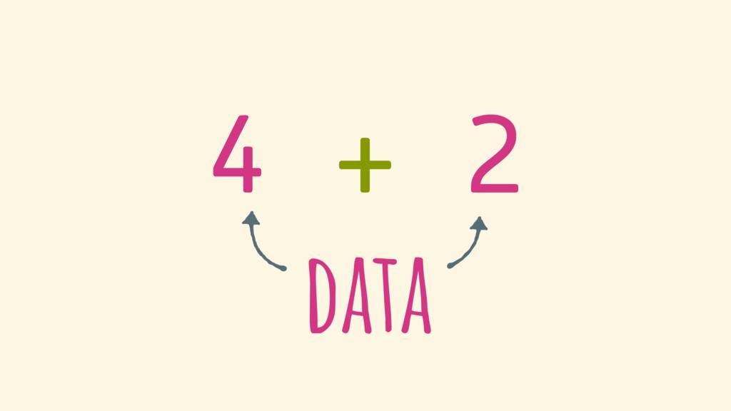4 + 2 data