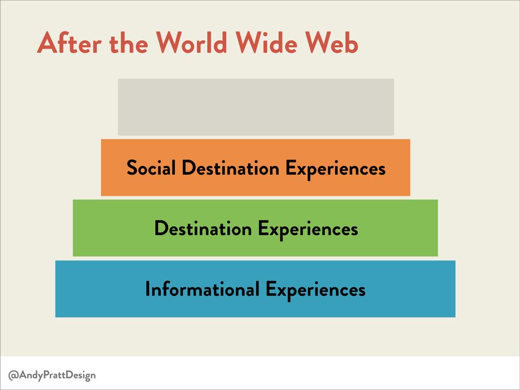 Informational Experiences Destination Experienc...