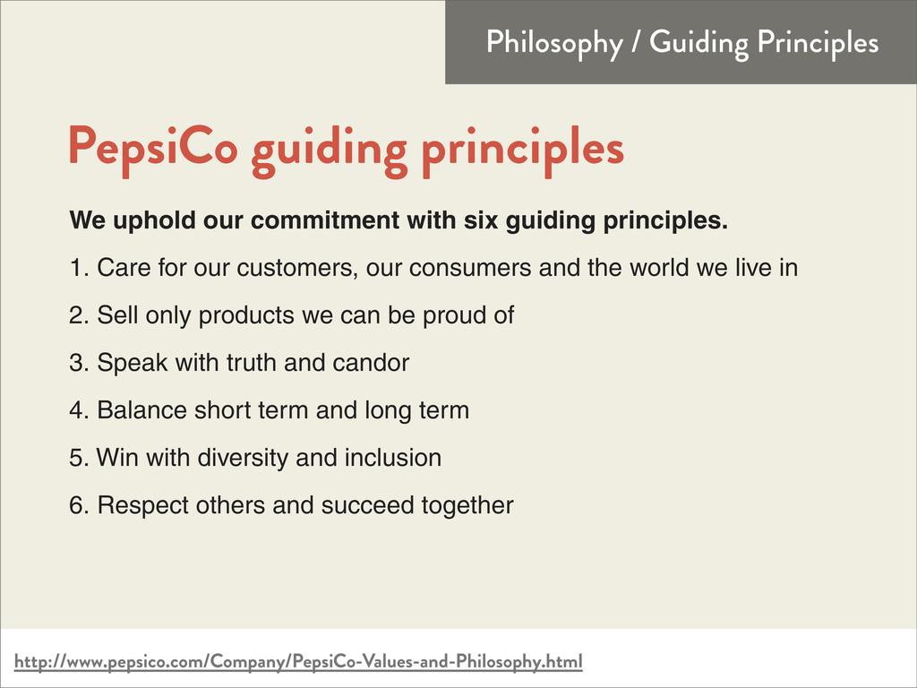http://www.pepsico.com/Company/PepsiCo-Values-a...