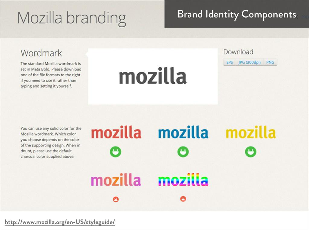 http://www.mozilla.org/en-US/styleguide/ Brand ...