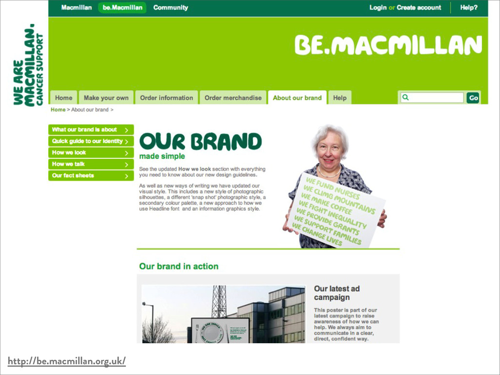http://be.macmillan.org.uk/