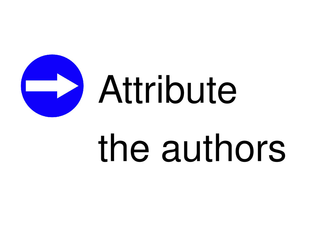Attribute the authors