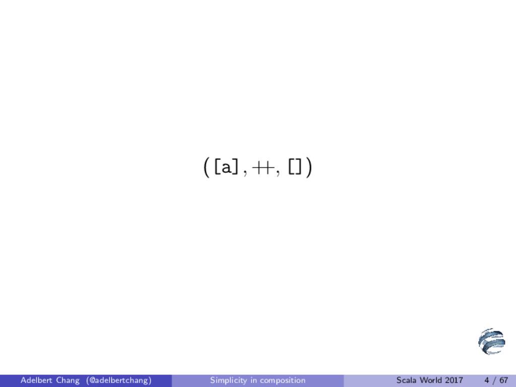 ([a], + +, []) Adelbert Chang (@adelbertchang) ...