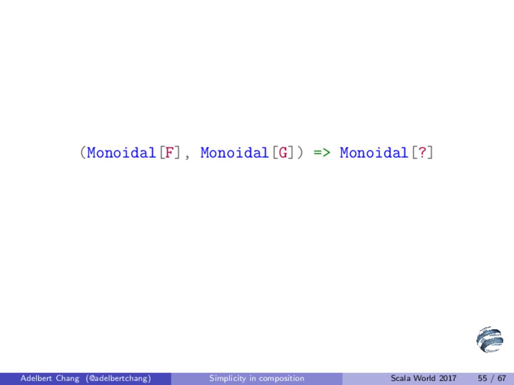 (Monoidal[F], Monoidal[G]) => Monoidal[?] Adelb...