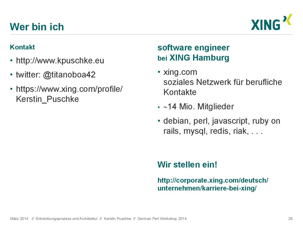 Wer bin ich Kontakt • http://www.kpuschke.eu •...