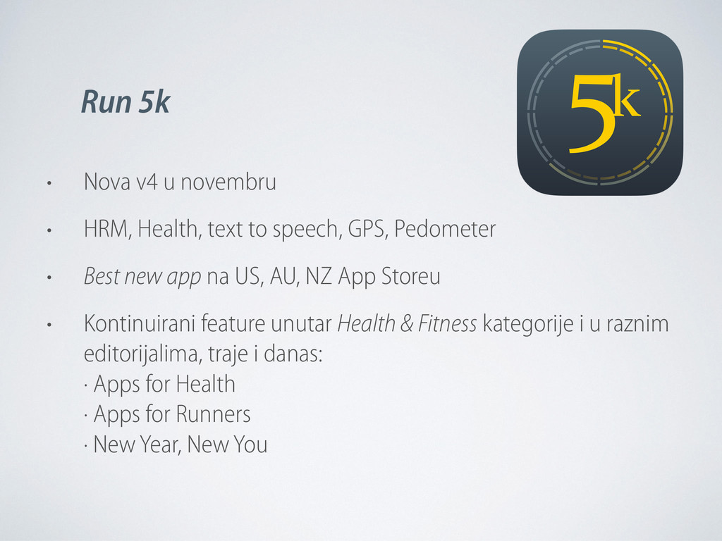 • Nova v4 u novembru • HRM, Health, text to spe...