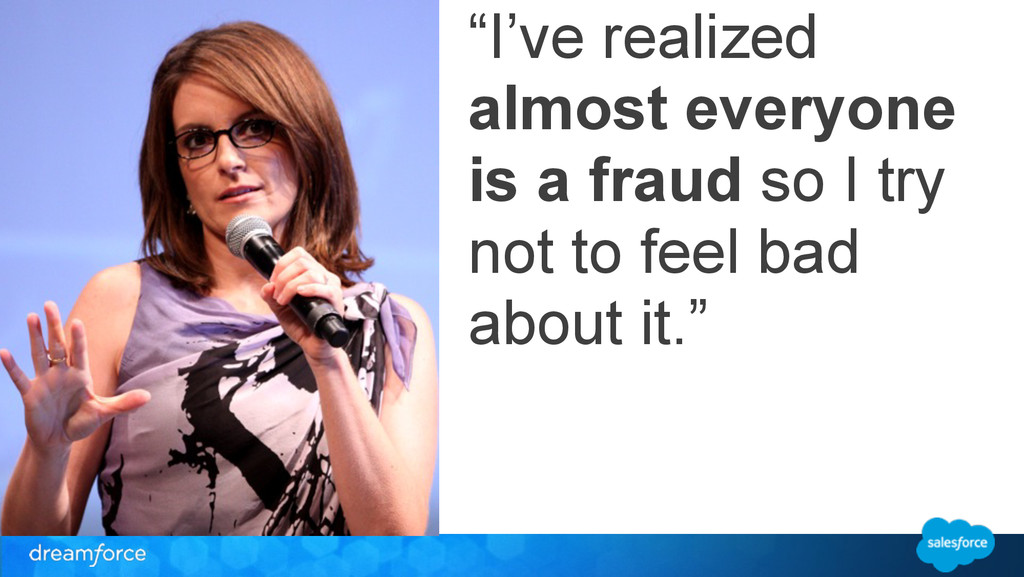 """I've realized almost everyone is a fraud so I ..."
