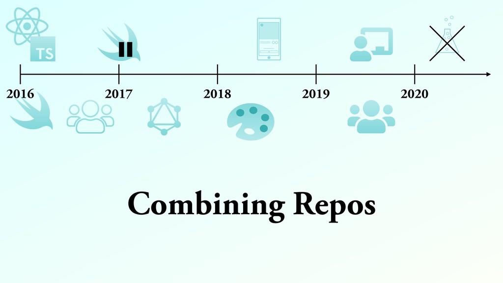Combining Repos 2016 2017 2018 2019 2020